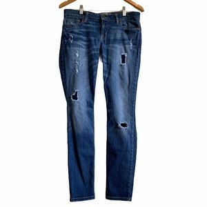 Guess Distressed Skinny Jean - Size 30